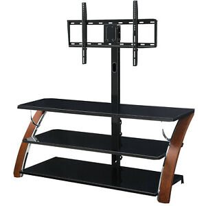 """3-in-1 Flat Panel TV Stand For TVs Up To 65"""""""