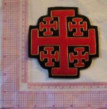 Medieval Crusades Knight Templar Sepulchre Tomb Church Tau Cape War Cross God