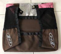 BOB Revolution Single Stroller - Brown & Pink Basket -  Bag Lower Storage - Used