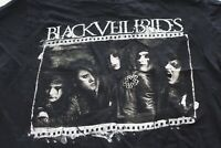 Black veil BIrds Music Logo TEE T SHIRT XL Extra Large