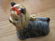 "Goebel Dog Ornament 3"" Glass"