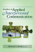 Studies in Applied Interpersonal Communication (2008, Paperback)