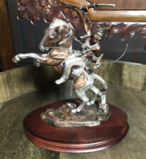 Legends Crazy Horse Dakotas It's A Good Day To Die Bronze Sculpture C.A. Pardell