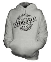 MADE IN LITHUANIA UNISEX HOODIE MENS WOMENS LADIES GIFT CHRISTMAS BIRTHDAY 50TH