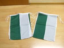 Fahnen Flagge Flaggenkette Schützenfest Grün Weiss 6 Meter 8 Fahnen