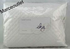 Sky Quatrefoil Cotton King Coverlet & Shams Set White