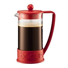 Bodum Brazil 10938-294B 8 Cup / 34oz Red French Press Coffee Maker NWOB