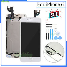 Assembly LCD Display For Apple iPhone 6 Screen Digitizer Touch Home Button White