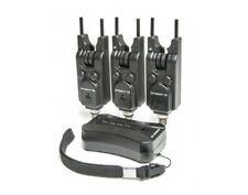 Saber S4  Wireless Alarm + Receiver Set Fishing Bite Alarms Carp /  Tackle