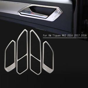Türgriff Blenden für Volkswagen VW TIGUAN II Abdeckung Rahmen Cover Edelstahl