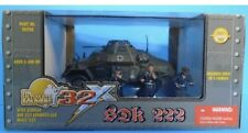 The Ultimate Soldier 1:32 WWII German SDK 222 Armored Car (Includes 3 Figures)
