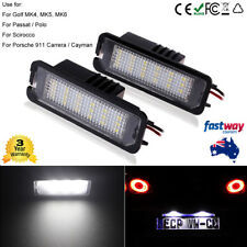 Canbus LED Licence Number Plate Light Fit VW Passat CC GTI Golf MK4 MK5 MK6 Lamp