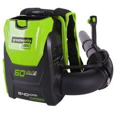 Soffiatore spalleggiato a batteria litio 60V Greenworks GD60BPB (SOLO MACCHINA)