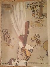 Zeitschrift: Album de Figaro;Collection d'Hiver 1947; chef rédacteur L. Ferrand