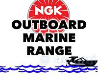 NEW NGK SPARK PLUG For Marine Outboard Engine MERCURY 55hp ML Sea Pro