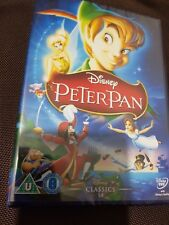 PETER PAN DISNEY DVD - ORIGINAL UK RELEASE - WHITE CLASSICS