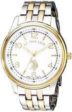 U.S. Polo Assn. Classic Mens Analog Display Quartz Two-Tone Watch