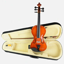 5 String Acoustic Violin Full Size 4/4 Violin +Bow/Case Nice Sound NEW VIOLIN