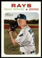 2020 Topps Heritage White #173 Trevor Richards