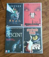 4x DVD Horror Movies Stephen King Cat's Eye Descent Species & 28 Days Later
