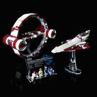 LEGO 75191 Hyperdrive - Custom Display Stand & UCS Plaque