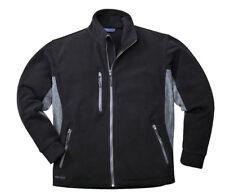 Portwest Tx40 Texo Heavy 2 Tone Fleece Jacket | Anti Pill Black XXL