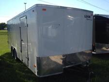 18  ft Enclosed LOOK 7,000 Lb GVW Cargo Trailer $4499.00
