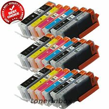18pk PGI-250XL CLI-251XL with Gray Ink Set Fits Canon Pixma iP8720 MG6320 MG7120