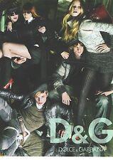 PUBLICITE ADVERTISING 2010   DOLCE & GABBANA  haute couture pour tous, vetements