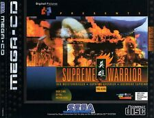 # Sega Mega-CD-Supreme Warrior-Top/MCD juego #