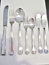 Besteck 5 Personen S. 100 er Silberauflage 27-teilig versilbert 100 er