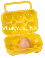 PROTECTIVE PLASTIC 6 EGG HOLDER box carrier container