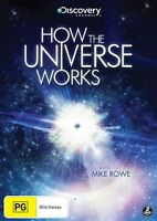 How The Universe Works With Mike Rowe (DVD, 2012, 2-Disc Set)  Region 4