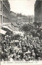 London. Petticoat Lane on Sunday Morning # 271 by LL / Levy. Black & White.