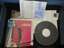 Tom Petty Damn The Torpedoes Japan Promo White Label Vinyl LP OBI w Press Sheet