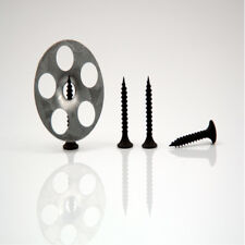 Marmox  Wedi  Tile Backer Board Screws & Washers Black Plastic 25mm Screws