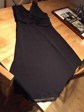 NEXT Chiffon V-Neck Patternless Dresses for Women