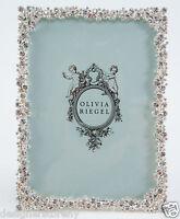 "Olivia Riegel Princess Picture Photo Frame with Swarovski® crystals stones 5x7"""