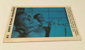 SPACE 1999  - SUNICRUST Card #18 Gerry Anderson RARE IN UK Made in Australia