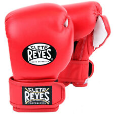 Cleto Reyes Youth Hook and Loop Boxing Gloves - Red