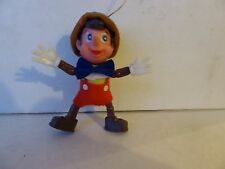 "Vintage Walt Disney 3.5"" Pinnochio Christmas Tree Decoration (Made In Hong Kong)"