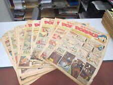 lot de 13 journaux revue magazine HARDI PRESENTE DONALD 1 ANNEE 1947 1948 1949 *