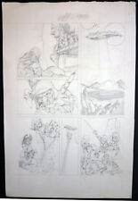 ++ SUPERB MIKE PLOOG PENCIL FANTASY LARGE ART - WEIRDWORLD - TOLKIEN