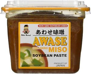 Miko Awase Miso Soyabean Paste, Japanese Miso Paste, Basic, 500 Grams