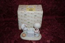 Precious Moments 1989 # 522031 Thank You Lord For Everything Figurine W/ Box