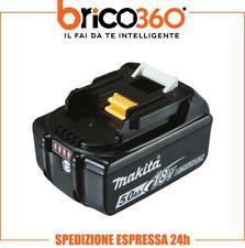 MAKITA BATTERIA ORIGINALE AL LITIO LXT 18V 5Ah BL1850B CON INDICATORE CARICA LED