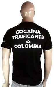 Ticila COCAINA TRAFICANTE de COLOMBIA Criminal Pusher Dealer T-Shirt S M L XL