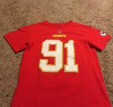 KANSAS CITY CHIEFS Official NFL football  91 Tamba Hali Size Small Womens 04806263d