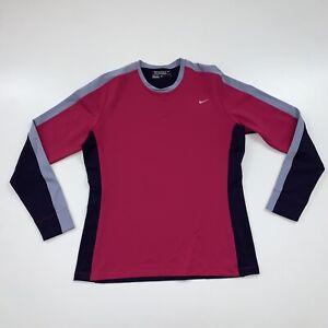 Women's Nike Golf Tour Performance Long Sleeve Shirt Size XL