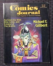 1983 Comics Journal Magazine #84 Vg+ 4.5 Michael T Gilbert / Elric Wraith